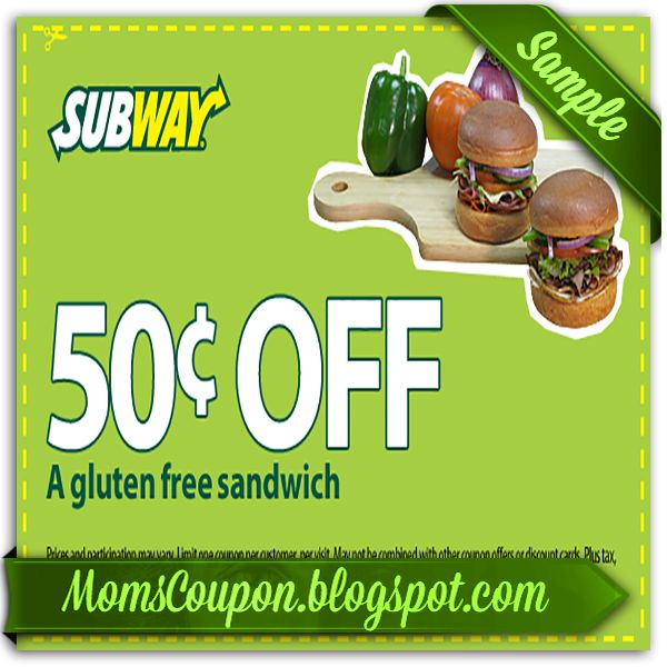 printable Subway coupons 10 off 50 for January