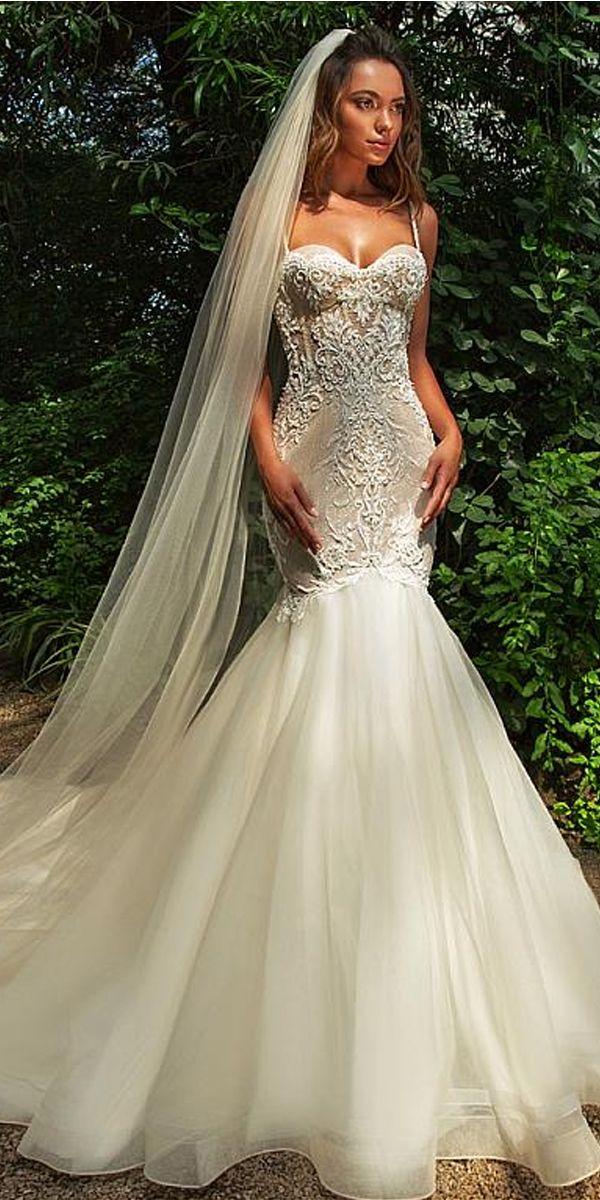 Beading Mermaid Wedding Dresses