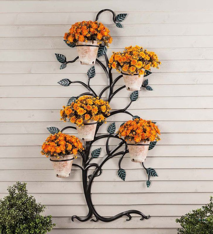 Tree Metal Trellis