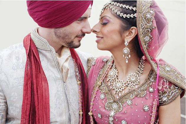 Stunning Multicultural Indian + English + Vintage Wedding Film | Bridal Musings