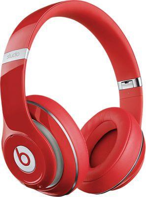 Beats Studio Wireless Over-Ear Headphone, Red