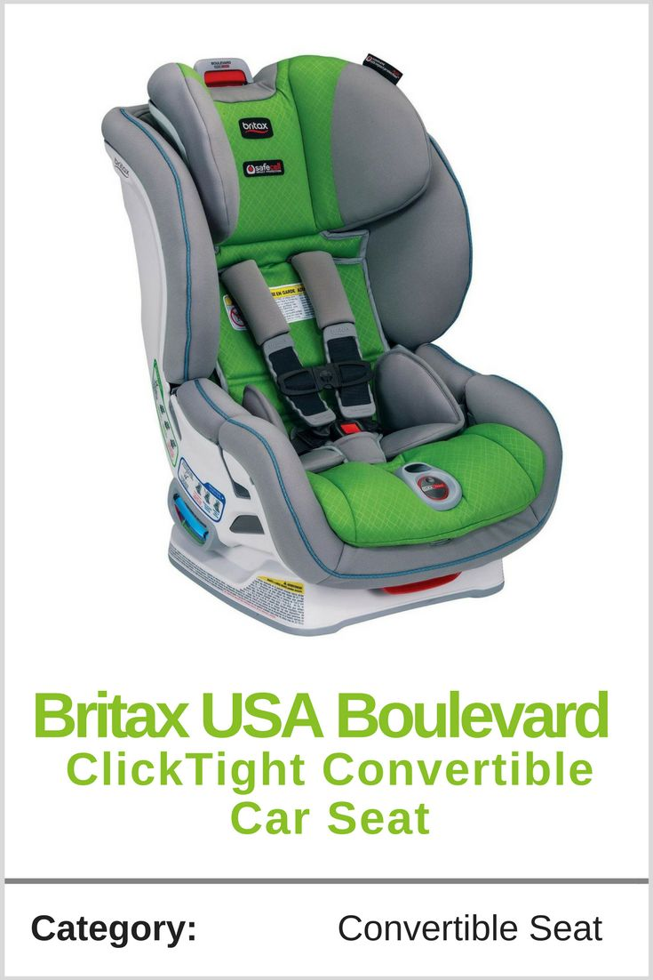 While Britax USA Boulevard ClickTight  Convertible Car Seat car seat has all of the impressive safety features that are standard in Britax seats, it has also incorporated a new one that puts it a step above the rest: a click-and-safe harness. You no longer have to worry about whether or not your little one is safely secured. A harness indicator makes a click when the straps are adjusted to the perfect fit. This prevents the movement that can lead to injuries during accidents when a car seat…