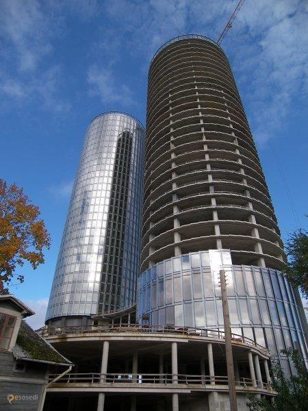 Z Towers – #Латвия #Рига (#LV_RIX) Z-Towers - две башни по тридцать этажей и строительство протяжённостью в 9 лет, если в срок уложатся...  ↳ http://ru.esosedi.org/LV/RIX/1000208798/z_towers/