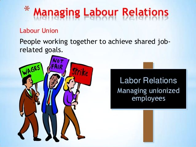 labor relation Labor relations represents the university for collective bargaining of contracts  we are the employer's agent in contract and labor management matters.