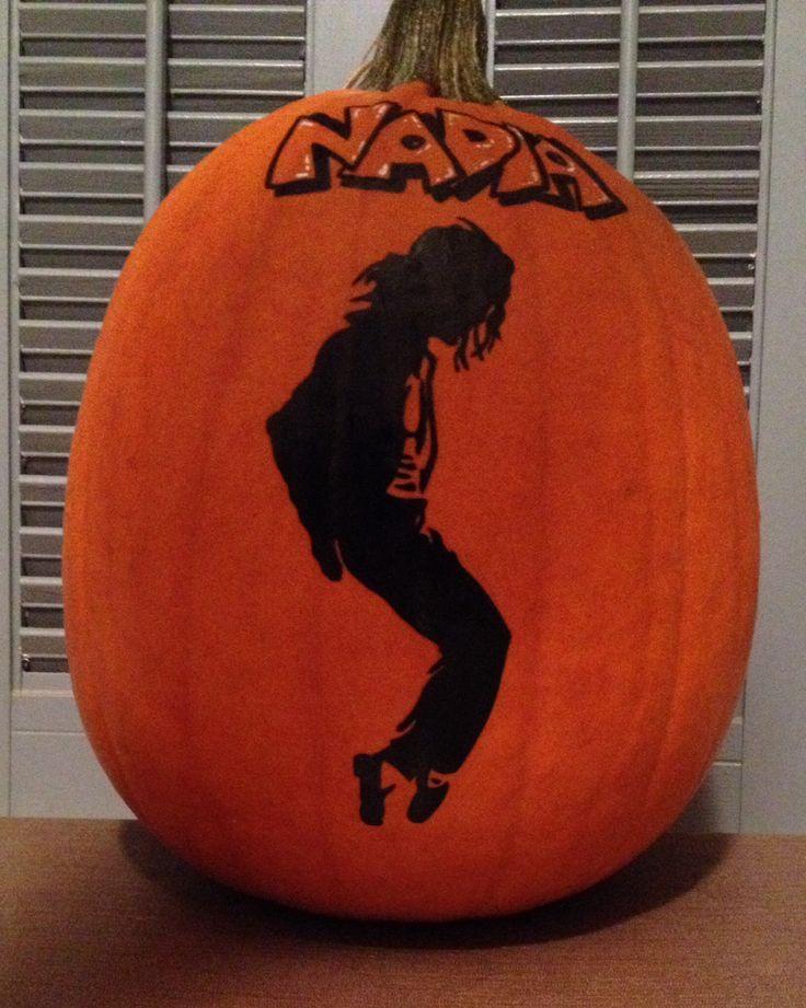 michael jackson pumpkin 2013 painted pumpkins pinterest