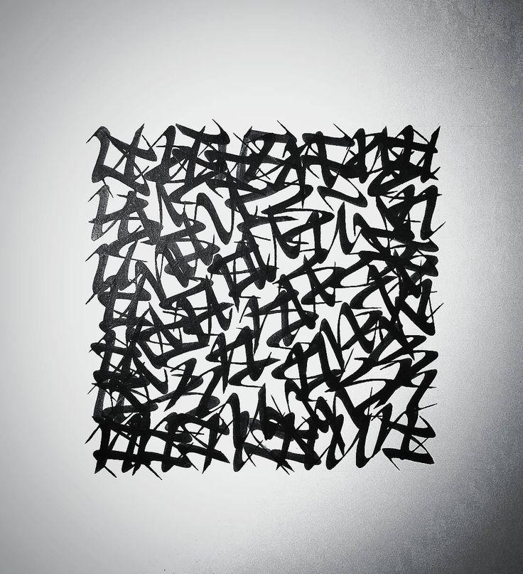 Хаос из букв.  #calligraphypractice #calligraphybeginner #calligraphymasters #calligraphy #moderncalligraphy #calligraffiti #calligraphyart #calligraphyph #lettering #handwriting #handlettering #handtype #typegang #tyxca #type #font #cyrillic #penmanship #italic #50words #thedailytype #letters #writing #instagramers #instagood #moscow #hobby #каллиграфия #леттеринг