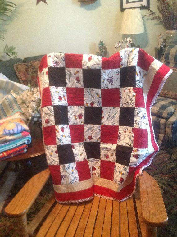 56 Best Nurse Quilt Images On Pinterest Nurses Nursing