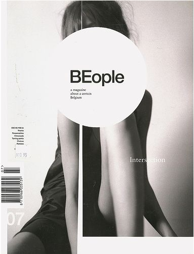 "This master head layout creates a great interest in me with how it interacts with the cover art. It's also clean and simple and portrays great creativity in simplifying a title. ""Be People."" Lovely."
