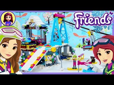 Lego Friends Heartlake Frozen Yoghurt Shop Build Review Silly Play