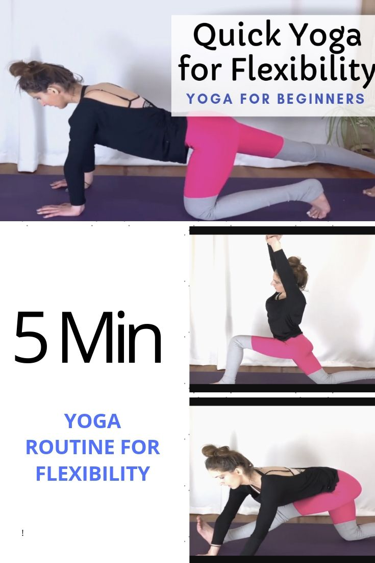 Enjoy This Quick Beginner Yoga Video For Flexibility When You Are Short On Time But Need A Break From T Yoga For Beginners Quick Yoga Yoga Videos For Beginners