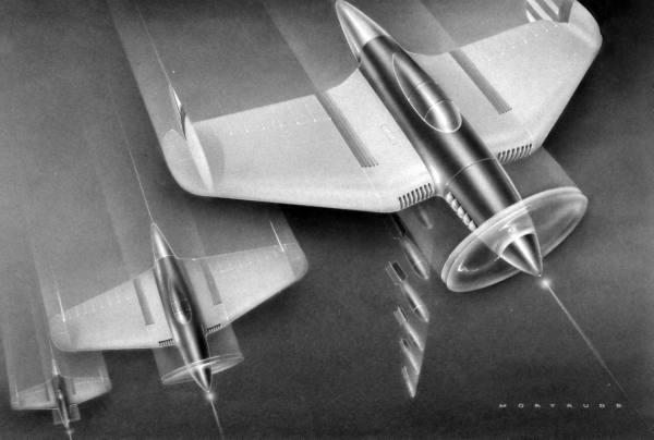 Speedboys: 1944 Prototypes of future vehicles