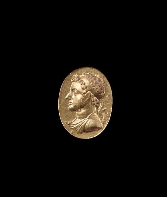 | Bague en or : Ptolémée VI (186-145 av J.-C.) | Images d'Art