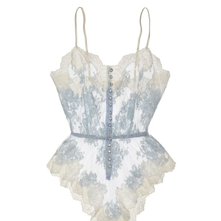Here comes the wedding night.....   Lingerie by Carlotta Danti.  Photo courtesy of the designer. -Wmag.