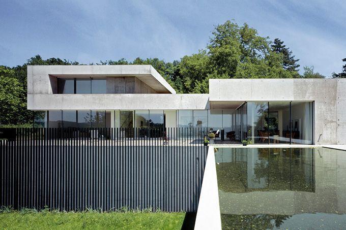 Villa in Winterthur - Peter Kunz Architektur Houses Pinterest - minecraft küche bauen
