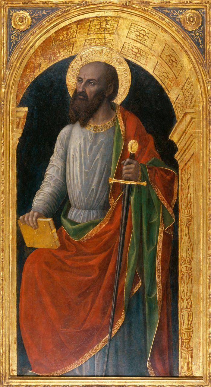 Винченцо Фоппа Апостол Павел - arabena.  Новоорлеанский музей искусств, 1499 год.