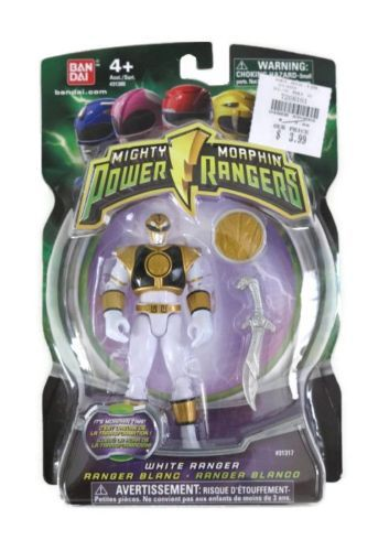 New Mighty Morphin Power Rangers 2010 White Ranger Tommy Power Up Coin Sold Out | eBay