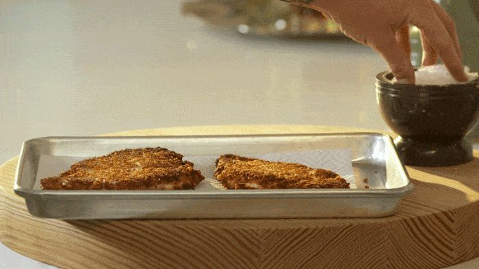 how to cook the perfect chicken schnitzel