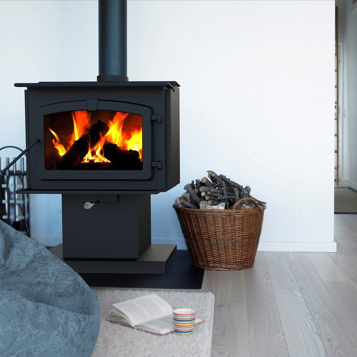 $907 Shop Pleasant Hearth 1,200-sq ft Wood Stove at Lowes.com - 59 Best Images About Wood Heaters On Pinterest Ceramics, Wood