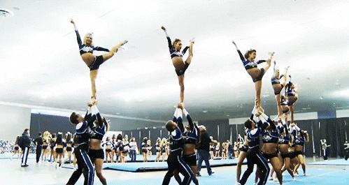 scale double down http://cheerleadinggifs.tumblr.com/post/42196072485