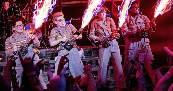 Ghostbusters Review #2: It's Not a Trainwreck -- Ghostbusters isn't remotely on par with the original, but by no means a terrible film. Chris Hemsworth steals the film completely. -- http://movieweb.com/ghostbusters-2016-movie-review-reboot/