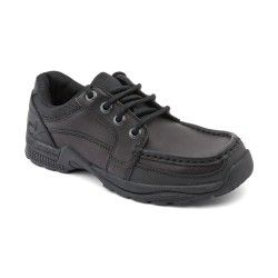 Boys School Shoes: Black Leather Boys Lace-up Rhino School Shoes http://www.startriteshoes.com/boys-shoes/school-shoes