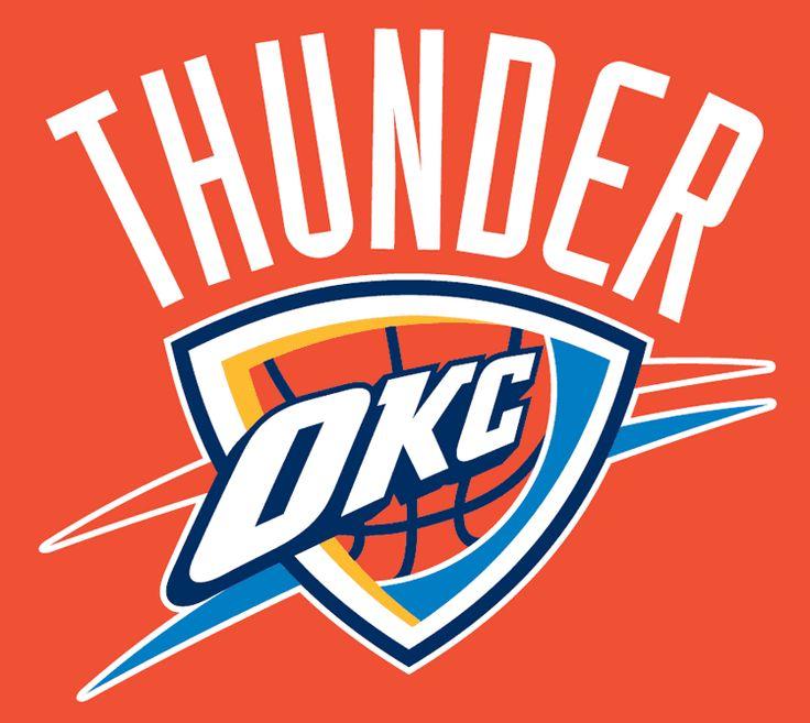 Oklahoma City Thunder Alternate Logo 2009 Present