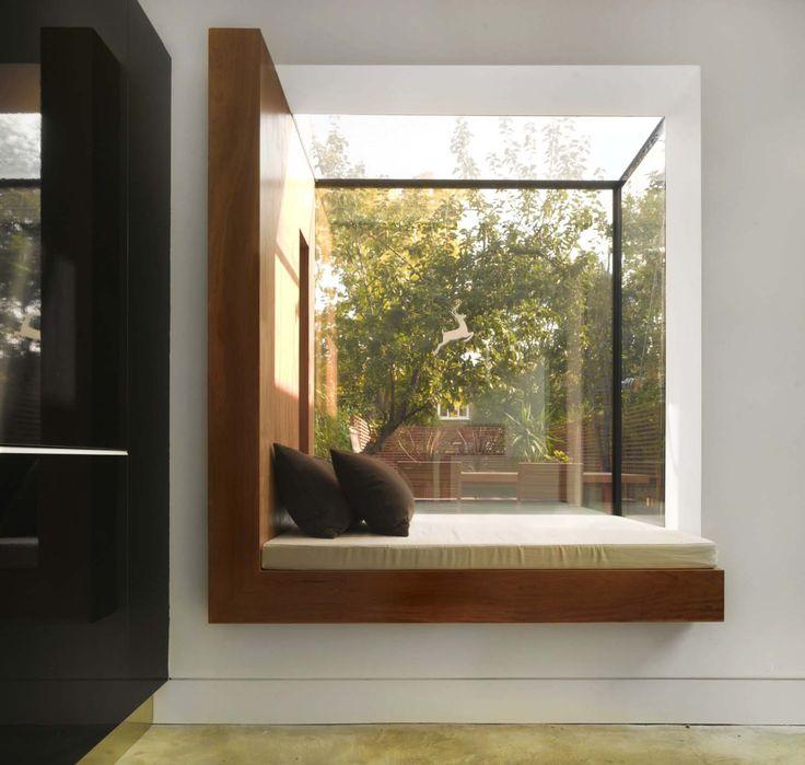 7 besten fenster Bilder auf Pinterest Erkerfenster, Fenstersitze - kleines schlafzimmer fensterfront