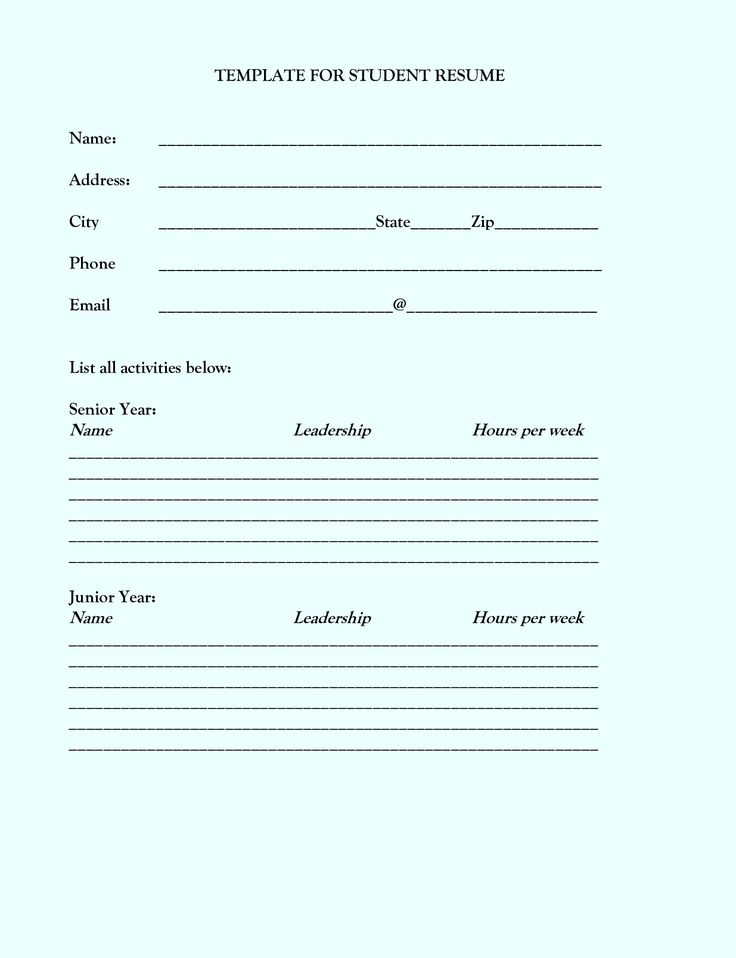4220 best Job Resume format images on Pinterest Job resume - resume format google docs