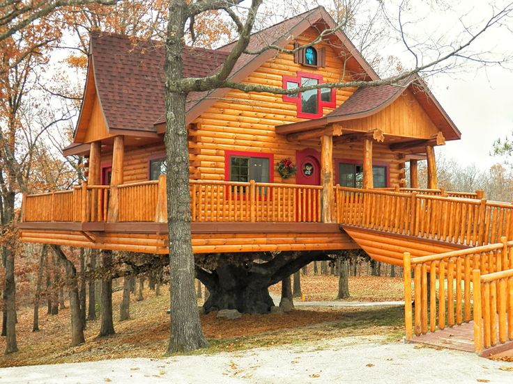 treehouse cabins branson mo