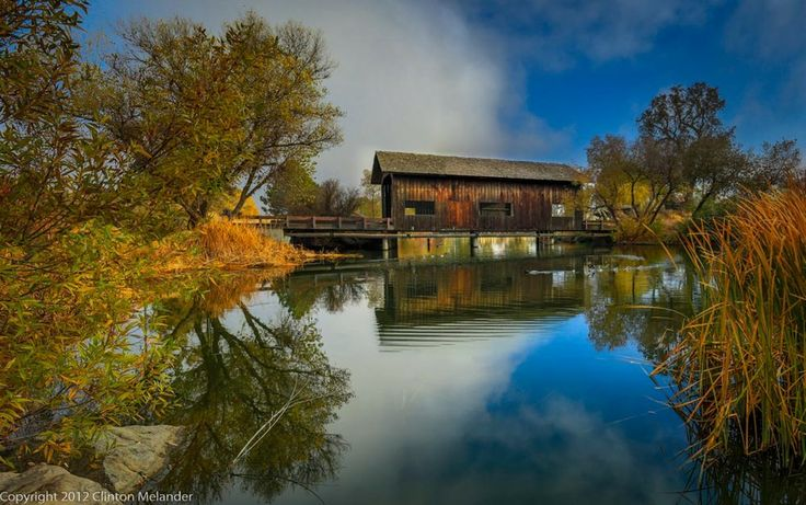 Covered Bridge Stallion Springs Chanac Creek California by Clinton Melander on 500px