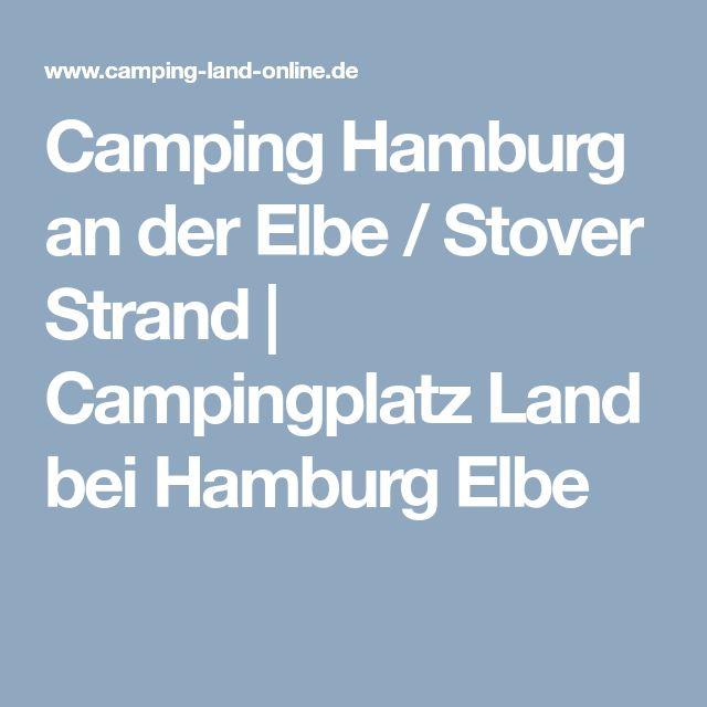 Camping Hamburg an der Elbe / Stover Strand | Campingplatz Land bei Hamburg Elbe