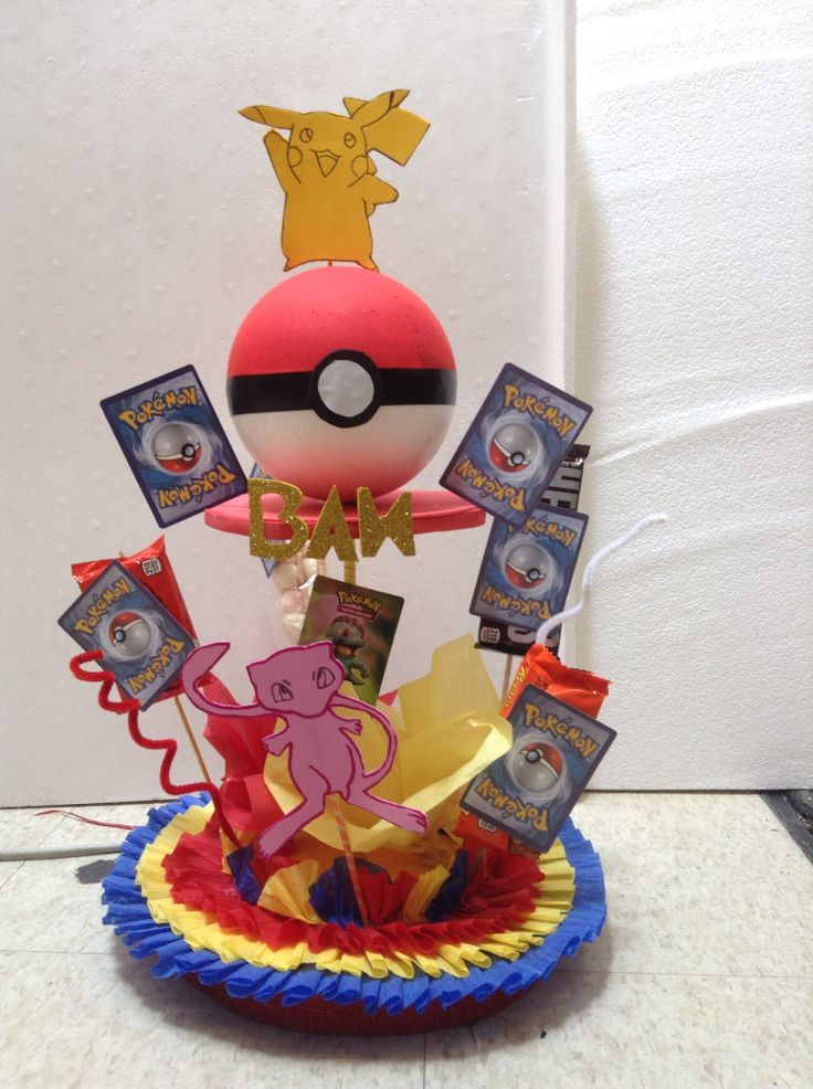Pokemon Centerpiece Pokemon Party Pinterest Pok 233 Mon Decoracion De Pokemon Y Fiestas