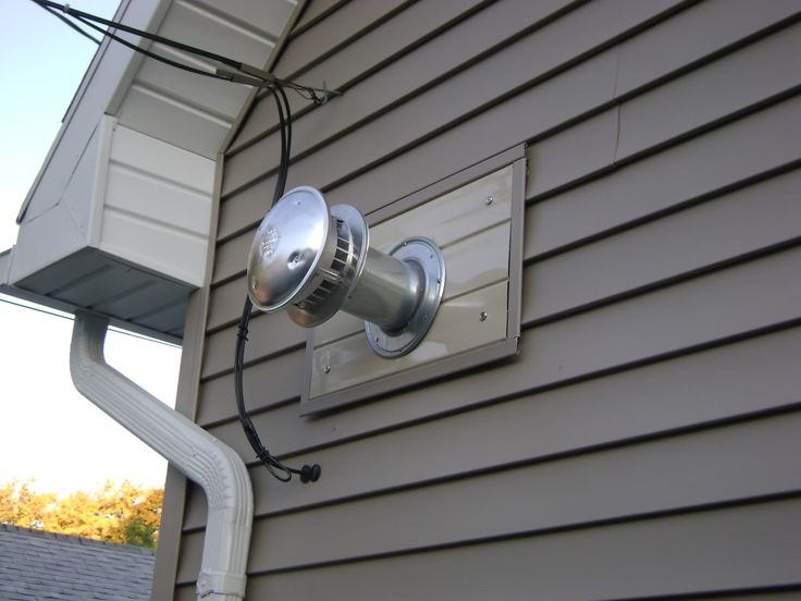 Direct Vent Heater Installation