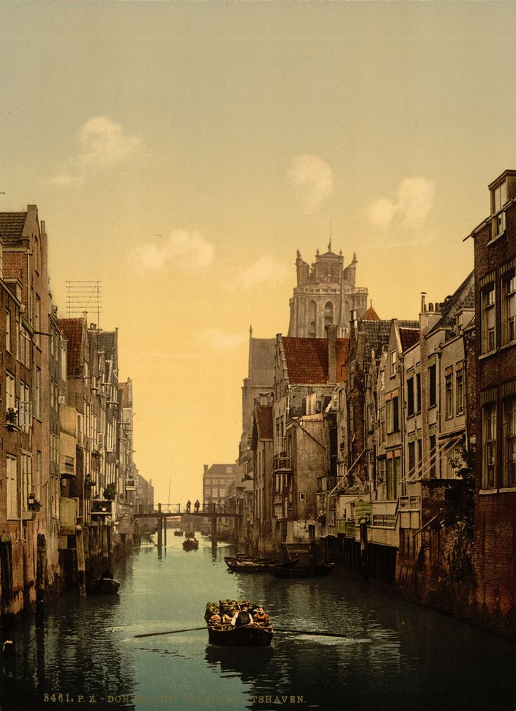 Wonderful Vintage Photochrom Prints of the Netherlands before 1900