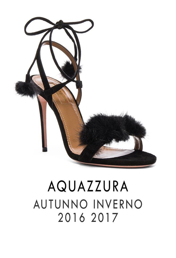 AQUAZZURA FW 2016 2017.  Boutique MONTORSI Via Emilia Centro 87 a Modena.  #aquazzura #fallwinter20162017 #autunnoinverno20162017 #shoes #scarpe #boutiquemontorsi #montorsimodena #modena #italy