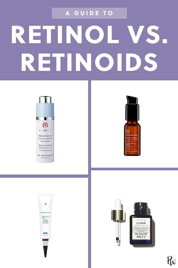 Help What S The Difference Between Retinol And Retinoids Retinol Skin Care Skin