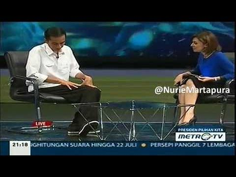 NAJWA: Pak Jokowi Cukup PEDE Memakai Sepatu Harga 200Rb Untuk Acara DEBA...