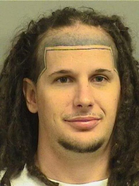 Ummmmmm. The double line hair tattoo is not gonna be able to to do, boo. No wonder your in jail because your thought process fails.