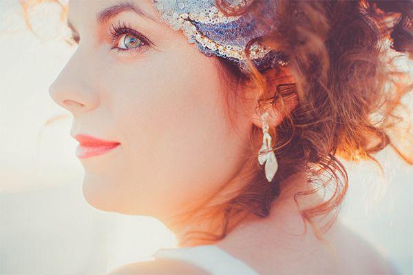 Inspiración: La novia pelirroja frente al mar.