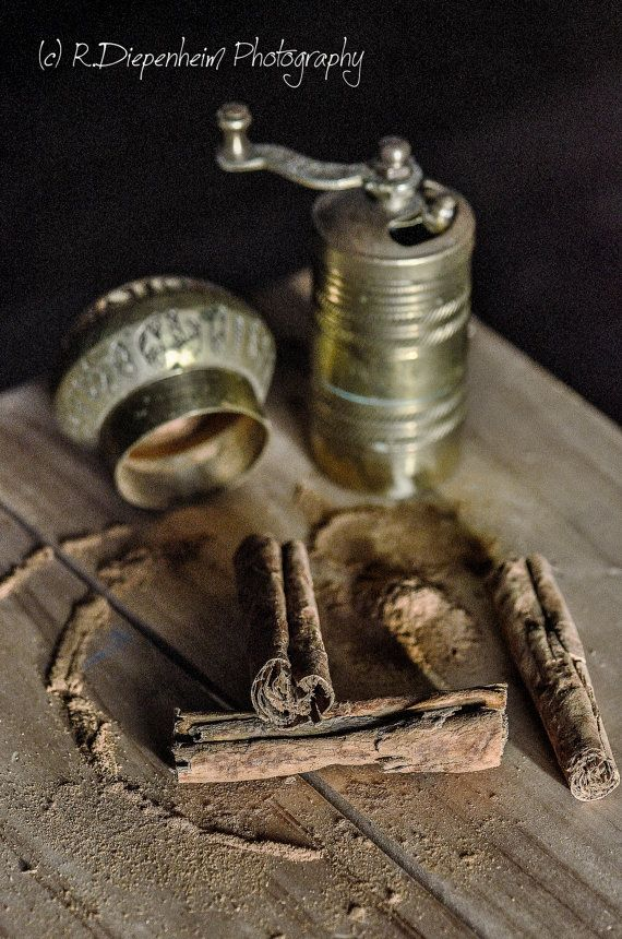 Cinnamon Sticks by RDiepenheimFoto on Etsy, $10.00