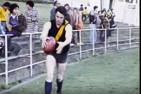 Bourke at training 1974 Grand Final week
