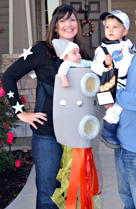 family costumes disfraces en familia
