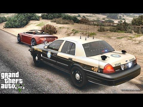 GTA 5 MODS LSPDFR 833 - HIGHWAY PATROL!!! (GTA 5 REAL LIFE PC MOD