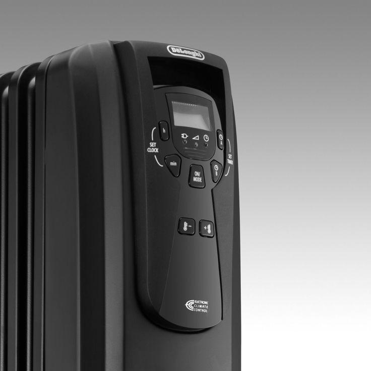 DeLonghi EW7507EB Oil Filled Radiator Heater $82.99!