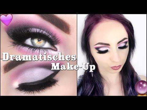 Dramatisches Make-Up ♡ I Hannah Black - YouTube