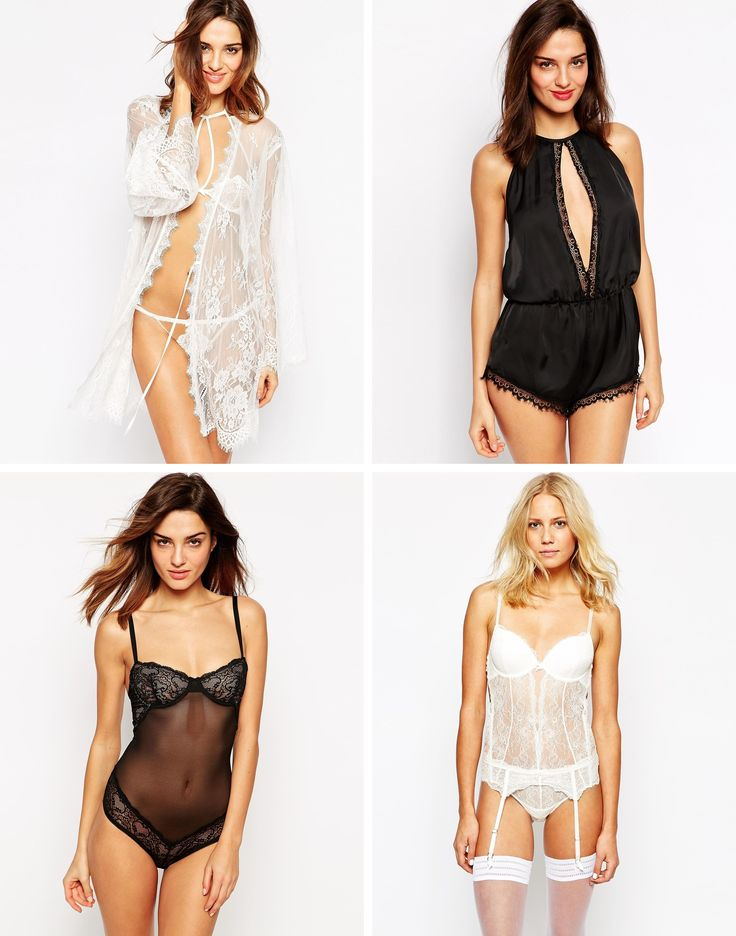 HOT HOT HOT Lingerie for your wedding day & honeymoon (that is surprisingly affordable!)