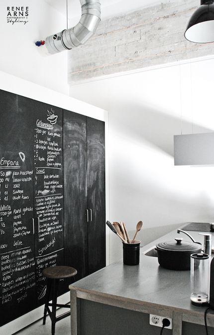 Kitchen Blackboard   Custom Kitchens Sydney: Brilliant! Must have.