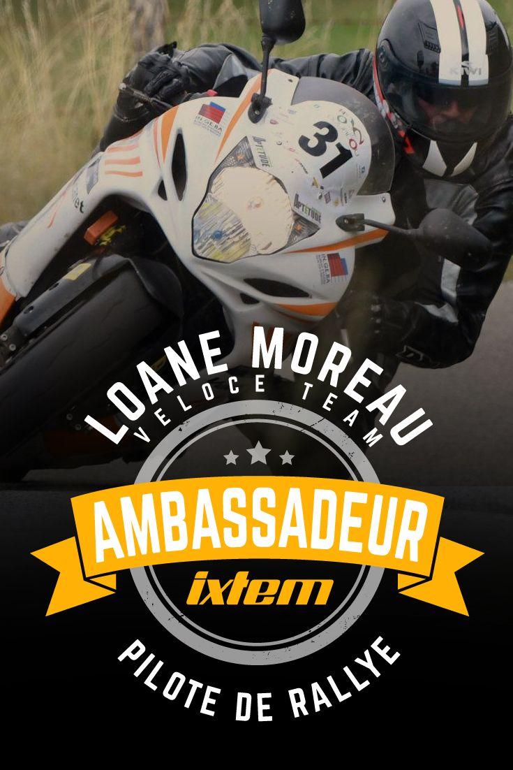 #moto #rallye #mototour Loane Moreau aime la vitesse. Pour vivre sa passion sur route fermée, il s'est lancé dans le rallye. Son pilotage nerveux n'est pas passé inaperçu. A son initiative, le Veloce Team est né. Une interview 100% moto.