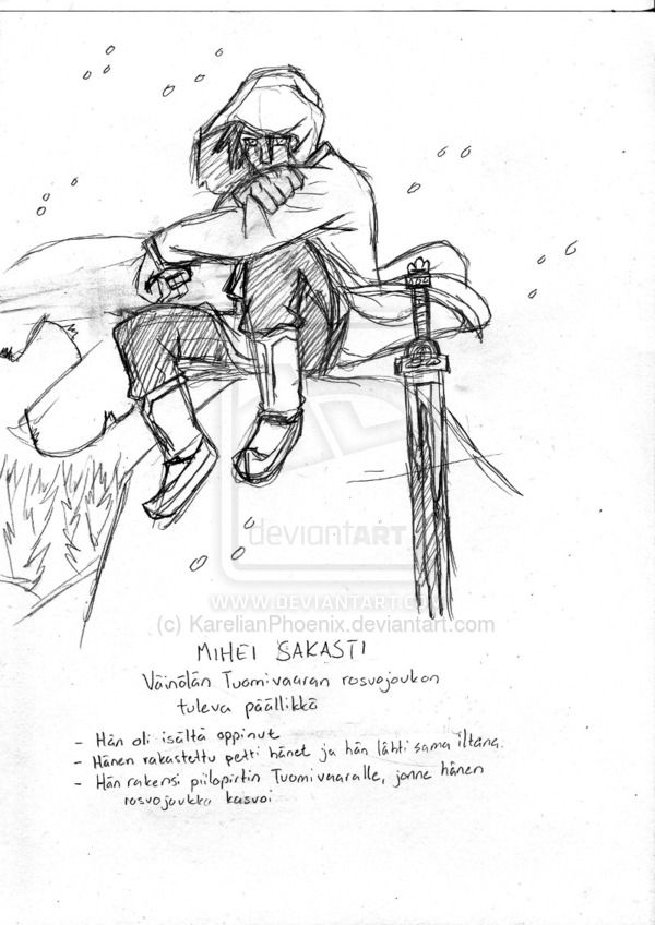 Mihei Sakasti by KarelianPhoenix.deviantart.com on @deviantART