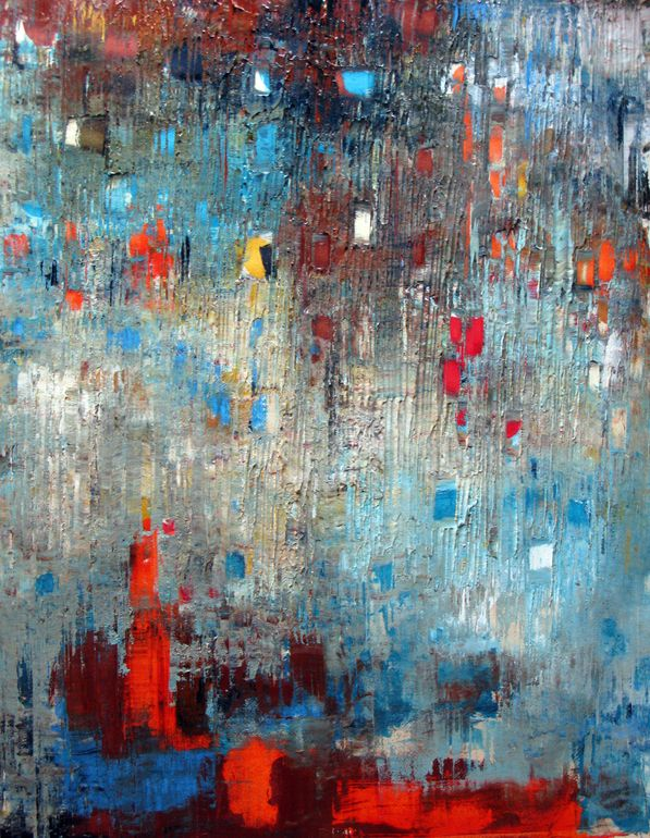 "Saatchi Online Artist: Lori Dell; Acrylic 2013 Painting ""Universe"""